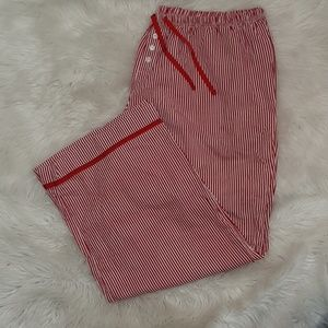 W40xL29 Plus Sz 22/24 CACIQUE Red White PJ Pants